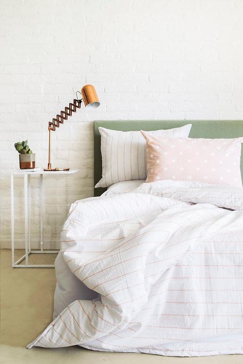 COMBO cama plaza y media estampado+ 2 almohadones 50x70