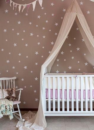 decoracion de interiores, cuartos de bebés, cunas, ropa de cama