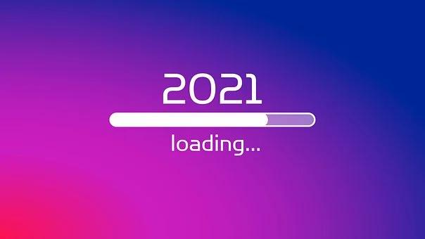 Loading screen bar for 2021