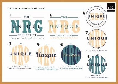 Developed Unqiue NRG design process sketch