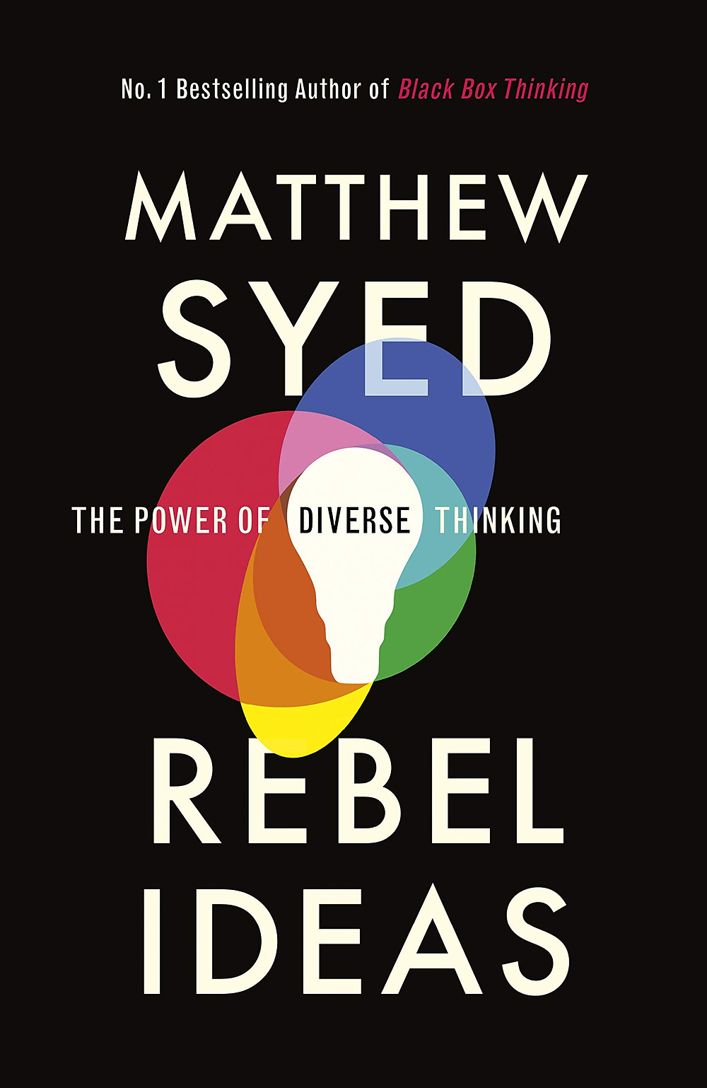 Rebel Ideas by Matthew Syed Book Cover