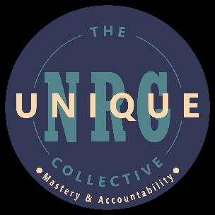 Blue Uniqiue NRG logo