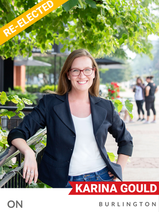 Karina Gould (Liberal, Burlington) has been an MP since 2015, relentlessly advocating for climate change and environmental protection since then. Her conservation efforts have included her work on exploring the development of more national parks and defence of the Greenbelt — having been a vocal opponent of the proposed highway that would cut through this ecologically vital area. She has been a strong advocate for the Cootes to Escarpment EcoPark, which works to protect, restore, and connect over 9,000 acres of natural lands in Burlington and around Hamilton. Gould has helped secure various environmental commitments, including the doubling of international climate financing as Minister of International Development, and support for wetlands rehabilitation programs in her riding.