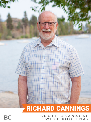 Richard Cannings (NDP, South Okanagan—West Kootenay) was elected in 2015 and appointed Deputy Critic for Natural Resources. He has sponsored three bills: to promote the use of wood in federal public works projects; to add various lakes and rivers to Navigable Waters Protection Act; and to require the Environment Minister to respond to a Committee on the Status of Endangered Wildlife in Canada (COSEWIC) report. He has advocated for a low-carbon economy, with more stringent carbon targets, low-carbon transportation infrastructure, and training for clean energy jobs. He has strongly encouraged cross-party cooperation on sustainability issues. Prior to being elected, Cannings was a biologist, a professor at the University of British Columbia, and author of several books on the natural environment. He served as a board member of the Nature Conservancy of Canada, and a member of COSEWIC, the B.C. Environmental Appeal Board and the B.C. Forest Appeals Commission.