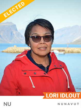 Lori Idlout (NDP, Nunavut) is a lawyer currently working as the legal counsel for the Nuluujaat Land Guardians, advocating against the Baffinland Iron Mines Mary River Project and the Phase 2 proposal to expand the project. She served as technical advisor for the Ikajutit Hunters and Trappers Organization of Arctic Bay, raising understanding of the risks of offshore oil and gas expansion on the marine ecosystem and local food security. As an Inuk woman, Idlout has also advocated to address the health and well-being of Indigenous communities, including by co-founding the Embrace Life Council in Nunavut, an organization to improve mental health, and the Coalition of Nunavut District Education Authorities.