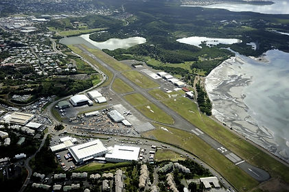 Navette aéroport Tontouta et aérodrome de Magenta
