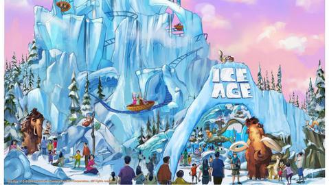 20th Century Fox World - Ice Age Land