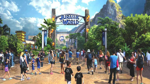 Jurassic World Isla Nublar