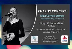 Charity Concert poster (Eliza Carrick-Da
