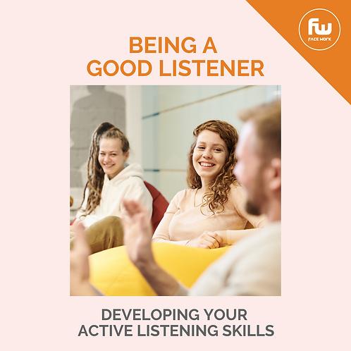 Being a Good Listener Challenge
