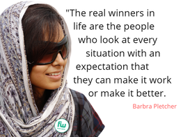 The real winners in life are the people