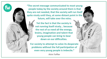 Alvin Toffler's quote about youth.png
