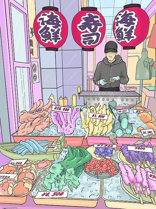 Osaka Fish Market A5