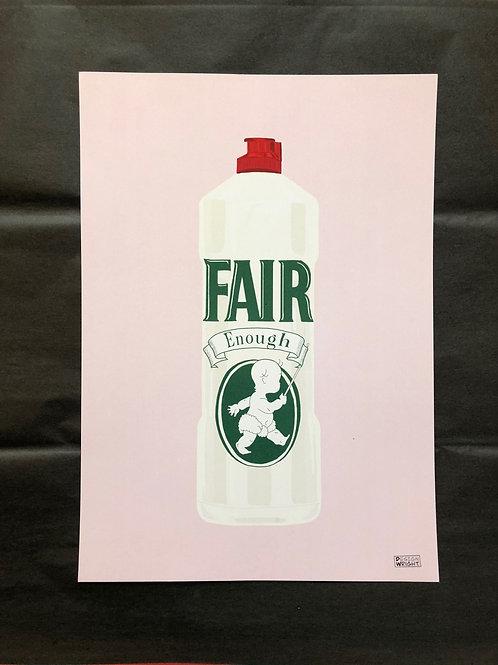 Fair Enough A4