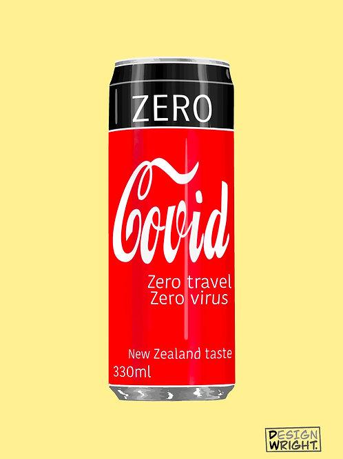 Covid Zero Postcard