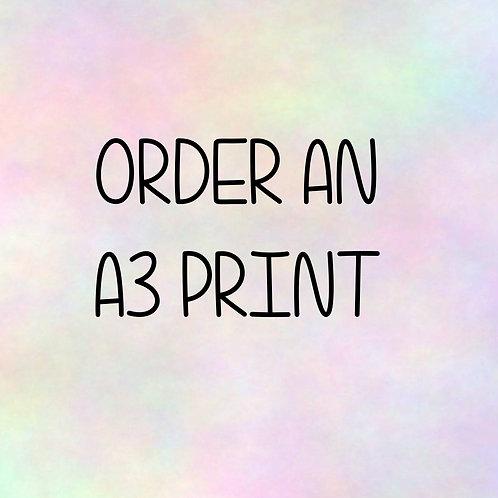 A3 Print Request