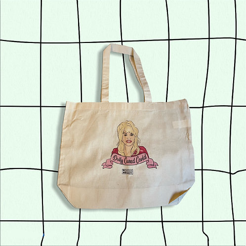 XL Dolly Cured Covid Tote