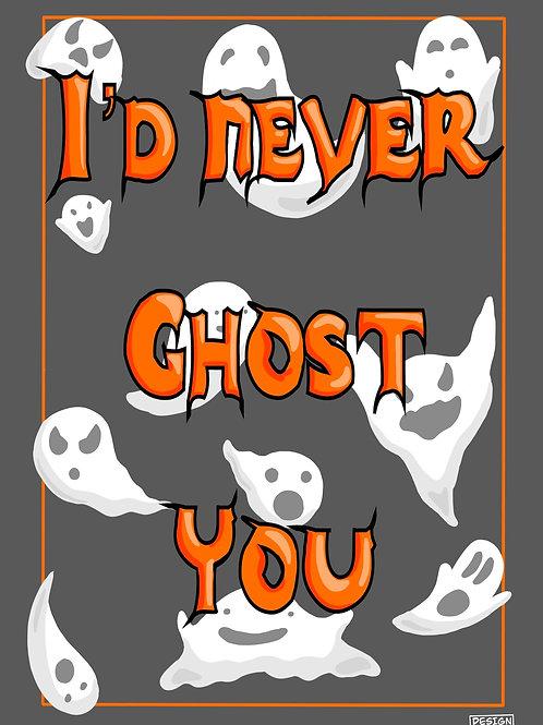 Ghost Postcard A6