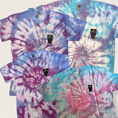 Gobshite Tie-Dye Blues Purples
