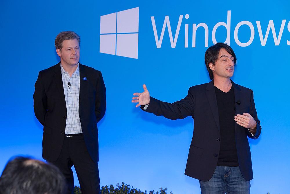 Joe Belfiore presenting Windows mobile keynote. Source : Microsoft News Center