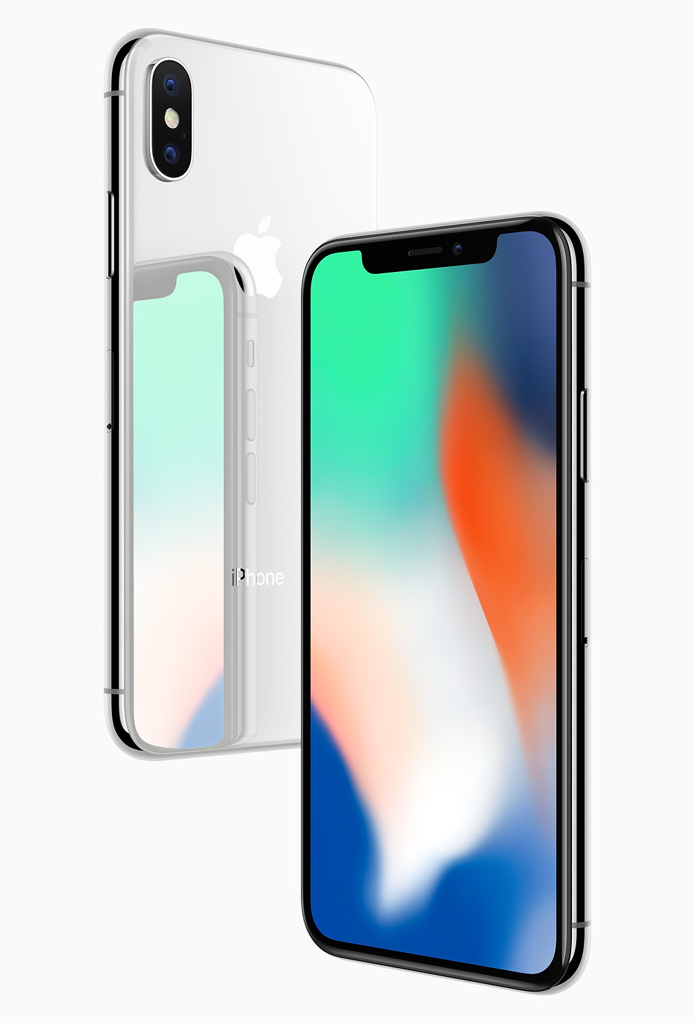 Front and rear view of iPhone X. Source: Apple Newsroom