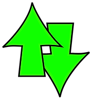 up down arrows