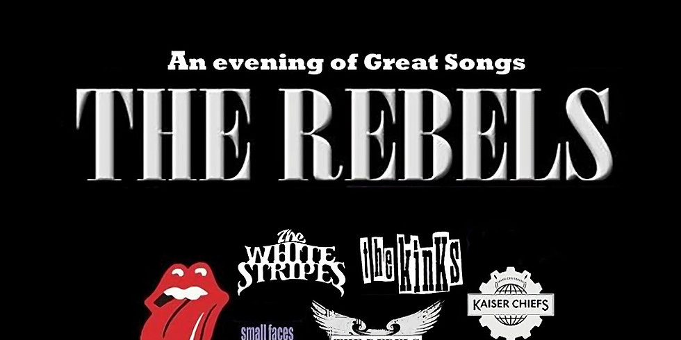 LIVE! The Rebels - Free entry