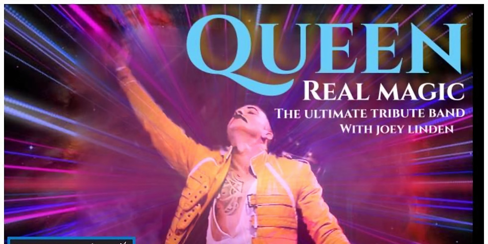 Real Magic - A tribute to Queen! - Ticket Only!