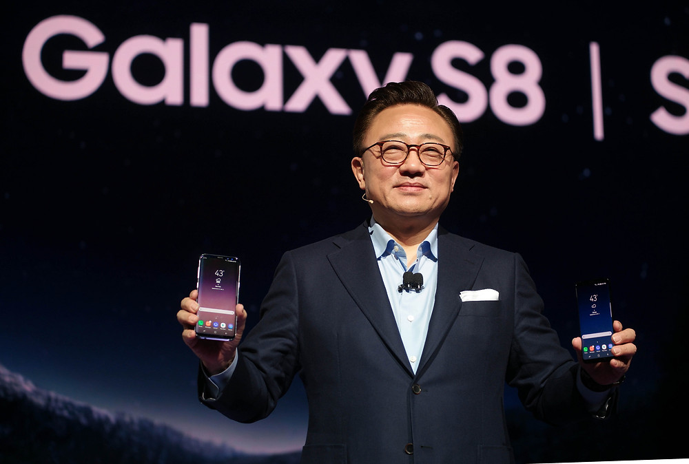 Koh Dong-Jin Announces the Galaxy S8