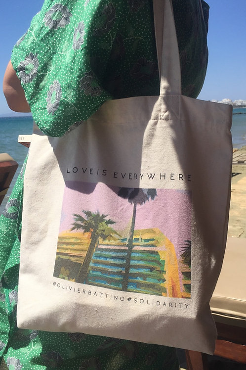Tote bag « California »