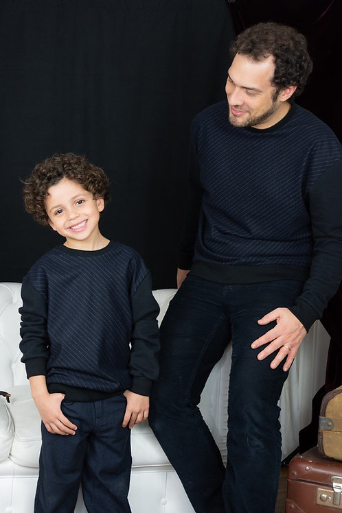 Sweat-shirt homme A nos amours x Olivier Battino