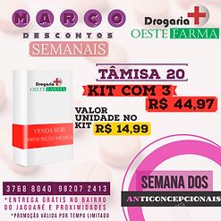 anticoncepcional tamisa 20