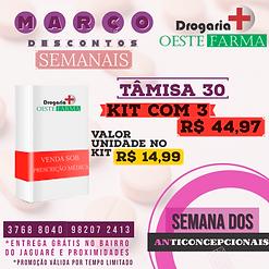 anticoncepcional tamisa 30