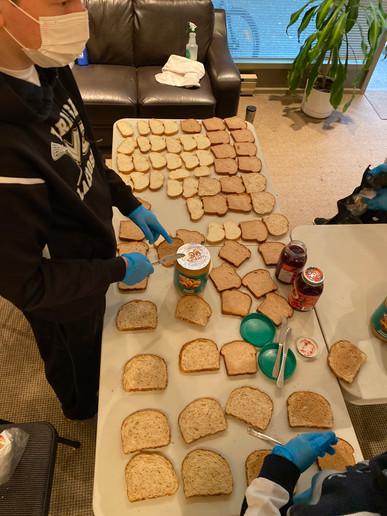 Sandwich Making!
