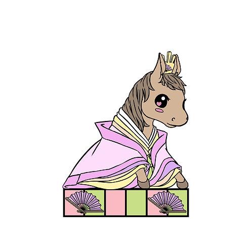 Horse Zodiac Hina Doll