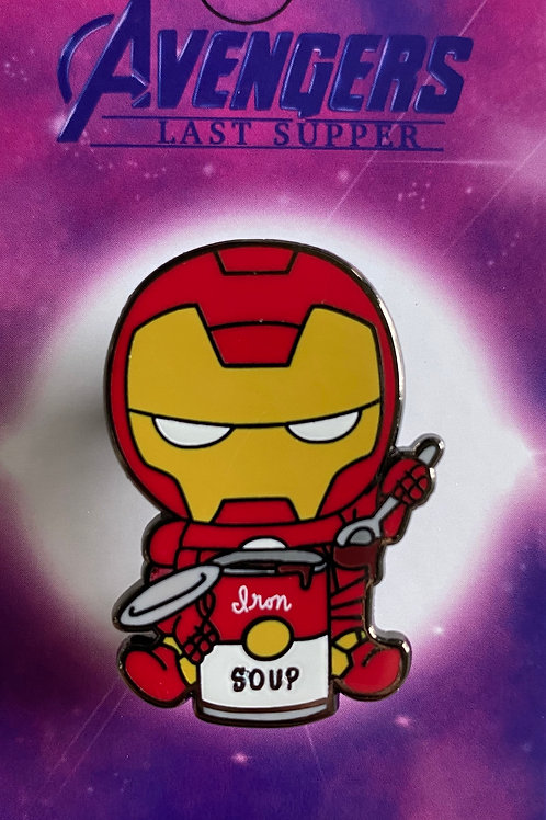 Iron Man Hard Enamel Pin