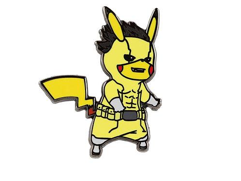 Pikachu as Rikido Sato Hard Enamel Pin