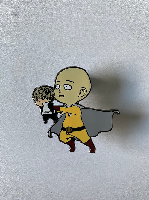 One Punch Man Hard Enamel Pin