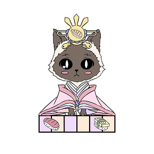 Cat Zodiac Hina Doll