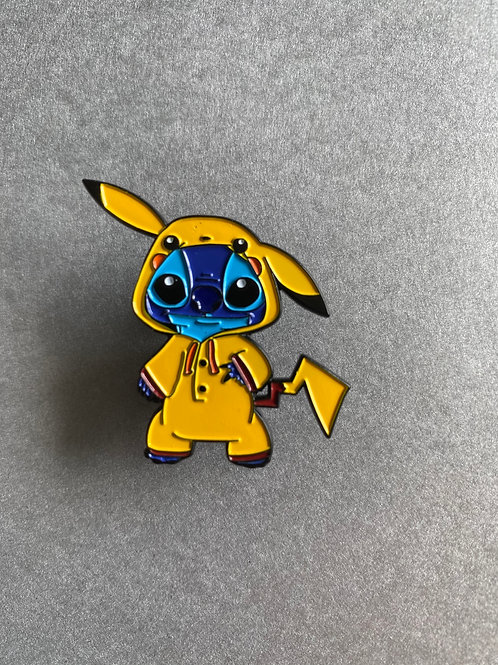 CLEARANCE PIN - Stitch cosplay Pikachu
