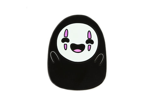 No Face Lit Emoji Hard Enamel Pin