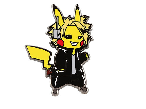 Pikachu as Denki Hard Enamel Pin