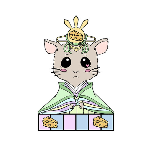 Rat Zodiac Hina Doll