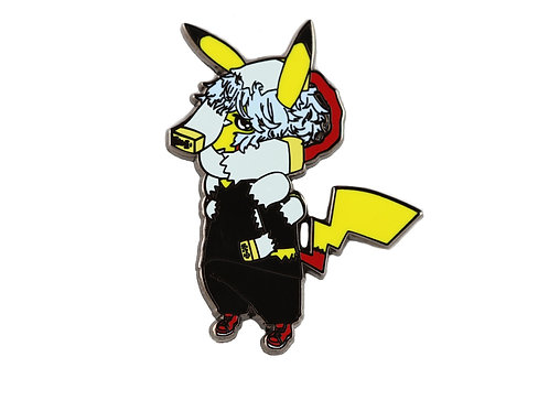 Pikachu as Tomura Shigaraki Hard Enamel Pin