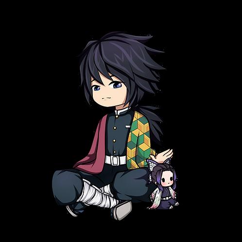 Giyuu with Shinobu plush
