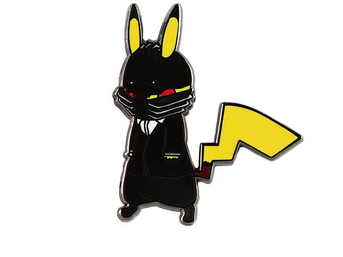 Pikachu as All for One Hard Enamel Pin
