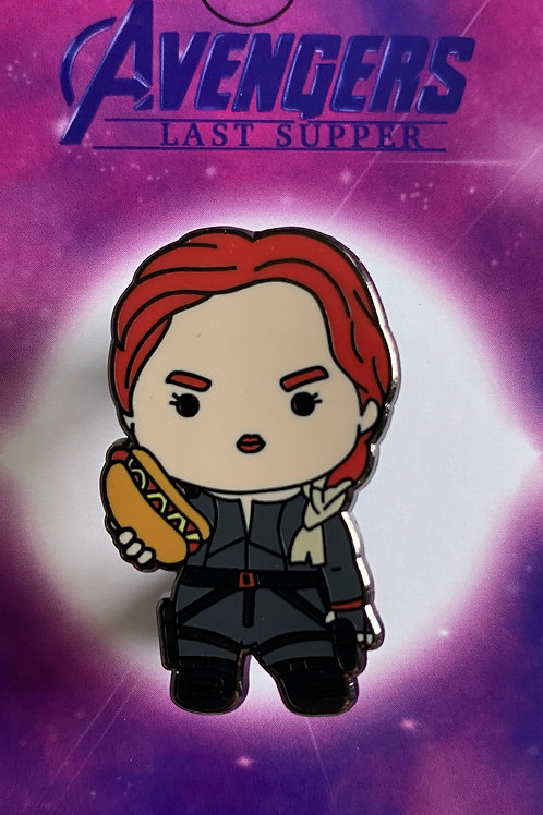 Black Widow Hard Enamel Pin