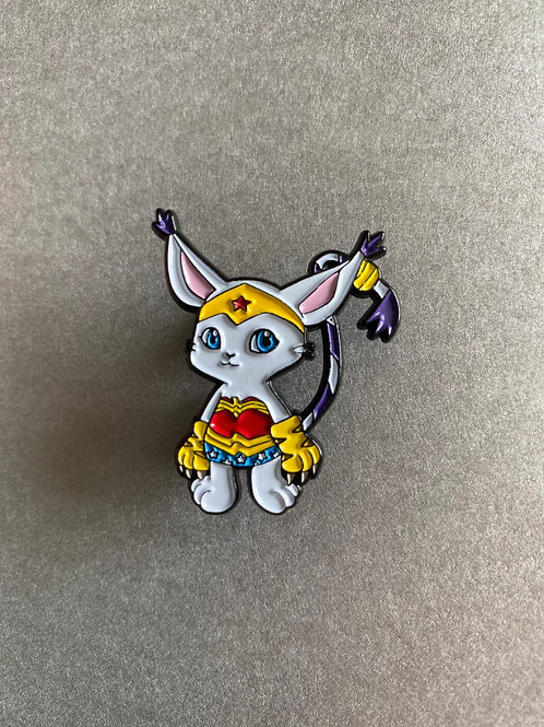 CLEARANCE PIN - Gatomon cosplay Wonder Woman