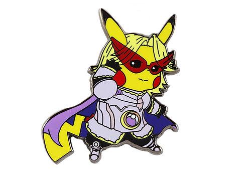 Pikachu as Yuga Aoyama Hard Enamel Pin