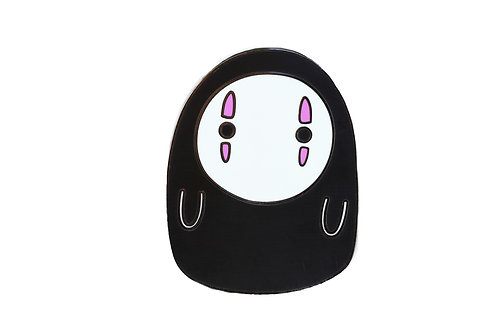 No Face WTF Emoji Hard Enamel Pin